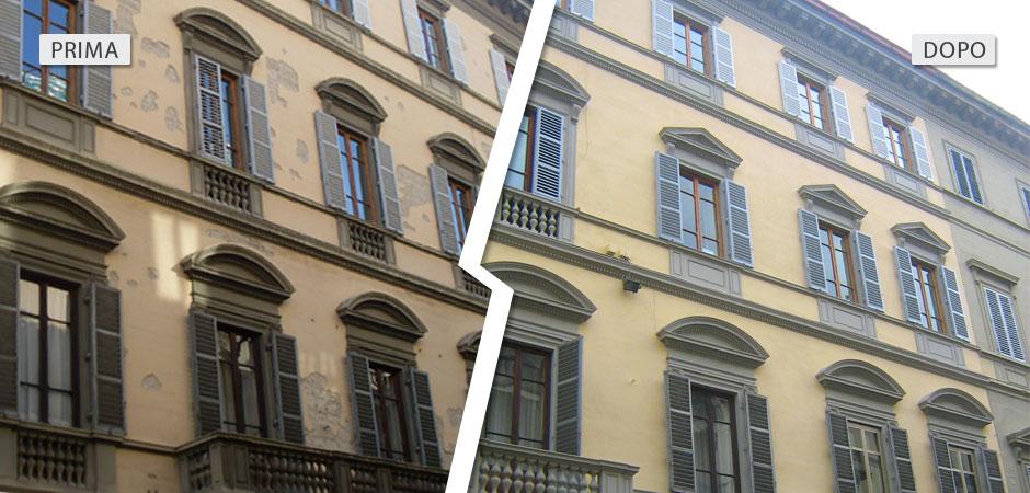 Ristrutturazione via La Marmora Firenze