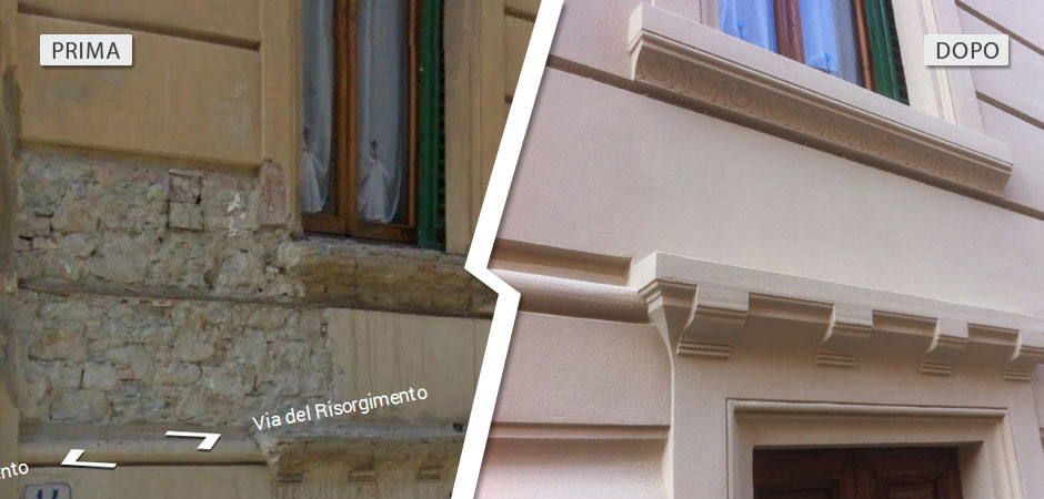 Ristrutturazione di immobile di pregio a Firenze