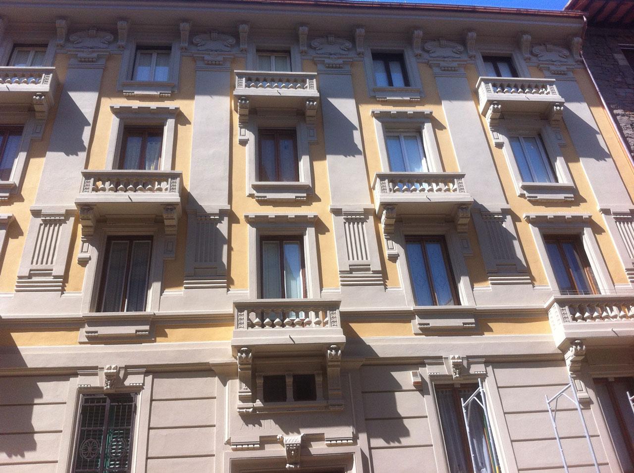 Ristrutturazione palazzo via Risorgimento Firenze