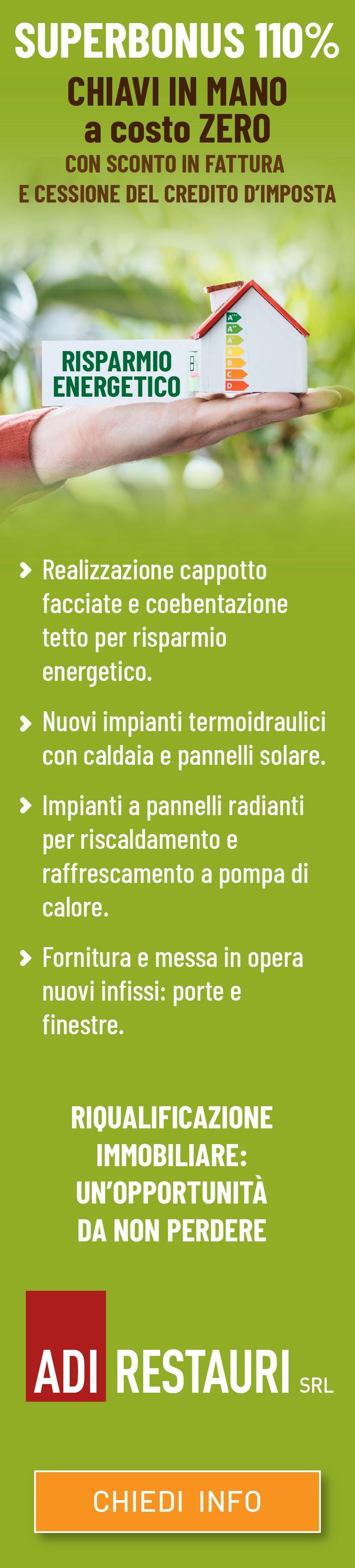 SuperBonus 110% Firenze - ADI RESTAURI srl